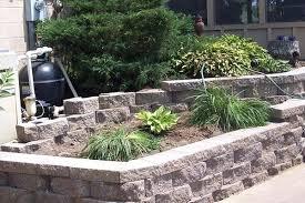 Retaining Wall Ideas For Gardens Backyard Retaining Walls Ideas Fabulous Garden Retaining Wall