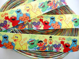 sesame ribbon 271 best aidans 1st birthday sesamestreet images on