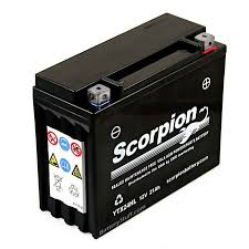 ytx24hl bs battery scorpion 12 volt motorcycle batteries