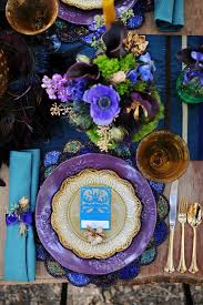 purple and turquoise wedding it works wednesday alternative fall color palette in purple