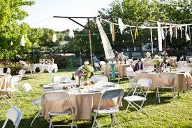 small backyard wedding decoration ideas plus trends nice savwi com