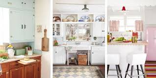 kitchens ideas pictures 20 vintage kitchen decorating ideas design inspiration for retro