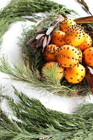 orange clove christmas centerpiece u2014 miss molly vintage