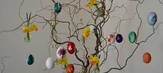 easter egg trees create a colourful easter egg tree the city planter