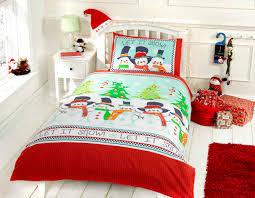 Christmas Duvet Covers Uk Snowmen U0026 Friends Christmas Bedding For Kids Kool Rooms For Kool