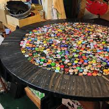 bottle cap table designs bottle cap beer pong tables archives beer pong table designs bottle