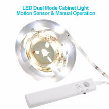 motion activated led light strip waterproof led night light strip motion sensor activated leds