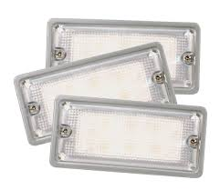 61961 3 led whitelight courtesy flush mount light bulk
