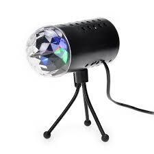 Halloween Lights Walmart by Amazon Com Tsss Led Rgb Crystal Ball Sound Active Stage Light For