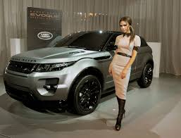rose gold range rover victoria beckham on her limited edition range rover evoque a u201cbag