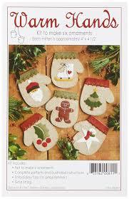 amazon com rachel u0027s of greenfield warm hands ornament kit set of 6