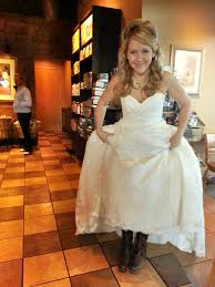 wedding dresses to wear with cowboy boots f m light s spots a sassy wears frye cowboy boots