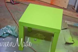 Lime Green Table L Lime Green Side Table Paperblog