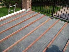 flat roof deck arrow roofing an isle of man based roofing