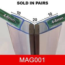 Shower Seals For Glass Doors Magnetic Shower Door Seal Mag001