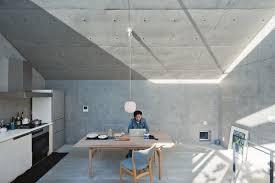 open plan concrete home in japan dwell
