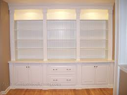 Decorative Bookcases Decorative Custom Built Bookshelves On Furniture With Custom Wall