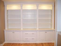Wall Unit Bookshelves - decorative custom built bookshelves on furniture with custom wall