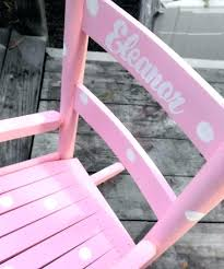 Wooden Rocking Chair Kids Personalized Rocking Chair For Toddlers Full Size Of Rocking Chair