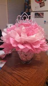 Centerpieces For A Baby Shower by Tutus And Tiaras Baby Shower Centerpieces By Me Pinterest