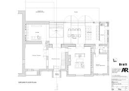 brick home floor plans house gets an all glass extension