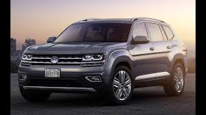 volkswagen suv 3 rows 8 best 3 row suvs around 30 000 for 2018 youtube