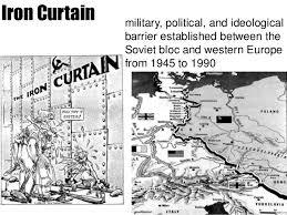 Iron Curtain Political Cartoons World War Ii