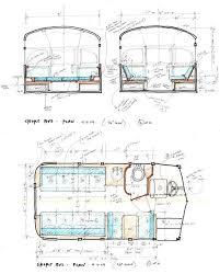Conversion Van Floor Plans 87 Best Great Camper Conversions Images On Pinterest Van Life
