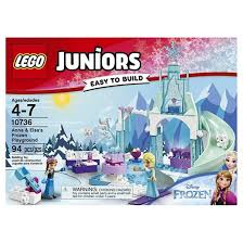 lego juniors anna u0026 elsa u0027s frozen playground 10736 target
