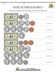 counting coins worksheets 2nd grade 2nd grade money worksheets