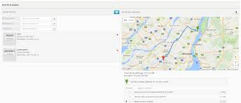 Google Map Canada by Trucking Dispatch Software Express Waybill Version 6 Features