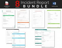 what is it incident report incident report template 27 60