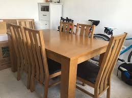 oakleigh extending dining table with 6 chairs in barnes london