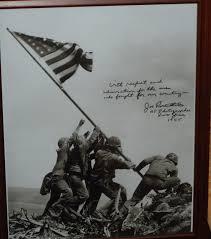 Flag Iwo Jima February 23 1945 Raising The Flag On Iwo Jima Pulitzer Prize