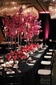 everything about fuchsia u0026 black themed weddings invitesweddings com
