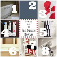 Kids Bathroom Makeover - inspiration for the kids u0027 bathroom makeover dukes and duchesses