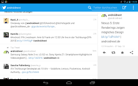 twiter apk für android tablet optimierte version vom galaxy note