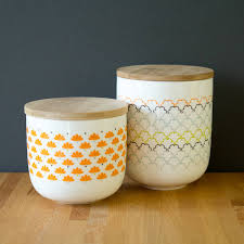 canisters notonthehighstreet com retro designed canister storage pot kitchen