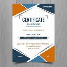 online design of certificate certificate template elegant certificate template vector design