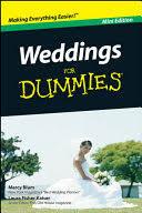 weddings for dummies weddings for dummies marcy blum fisher kaiser books