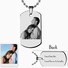 Photo Engraved Necklace Compare Prices On Engraving Photos Online Shopping Buy Low Price