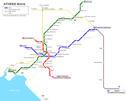 Los Angeles Metrolink Map by Athens Metro Map Www House2book Com Getting Around In Greece