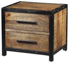 Black Wood Nightstand Black Metal Stand Great Size Of Metal Nightstand