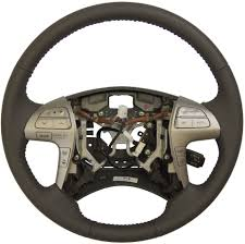2007 2011 toyota camry hybrid steering wheel med grey leather new