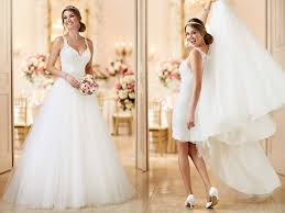 wedding dresses in two gowns in one 26 fashion forward convertible wedding dresses
