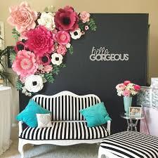 wedding backdrop paper flowers best 25 paper flower backdrop ideas on flower