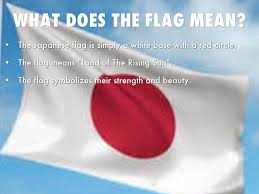 What Is A White Flag Japan By Jester Rachel