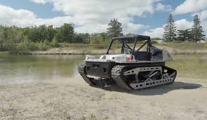 amphibious vehicle military polaris rampage tracked side by side military vehicle recoil