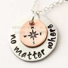 best necklace stores images 2015 new arrive no matter where necklace hand stamped sisters jpg