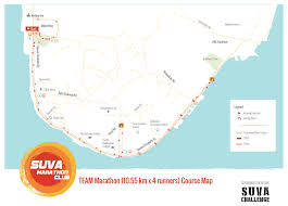 map of suva city participant info munro leys suva challenge 2018 21st april 2018
